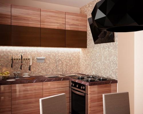 Проект 6-и метровой кухни