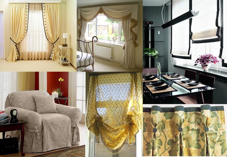 Текстиль в интерьере. Как подобрать шторы к интерьеру