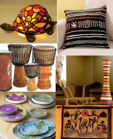 Африканском стиле своими руками